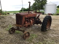1946 Farmall M 2WD Tractor For Parts