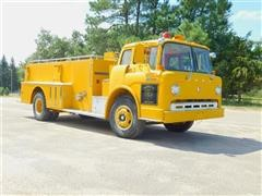 1971 Ford F900 Cab-Over Fire Truck