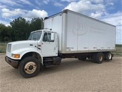1994 International 4900 T/A Box Truck
