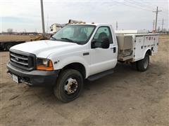 2000 Ford F450 XL Super Duty Service Truck