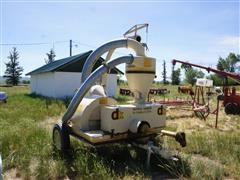 Dunbar Kapple Vac-u-vator 9861 PTO Grain Blower