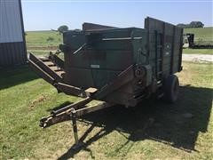 Schwartz 150 Bunk Feeder Feed Wagon