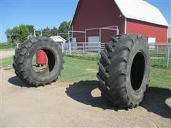 Michelin 710/70R38xM28 Bar Traction Tires