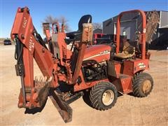 2011 DitchWitch RT45 Trencher/Backhoe Combo