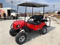 2018 E-Z-GO Red Express S4 High Output Off-Highway Gas Vehicle
