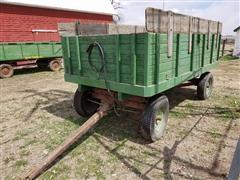 Electric Wheel Co 550 Hydraulic Dump Grain Wagon