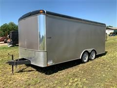 2012 United ULT-8.518TA35-S T/A Enclosed Trailer