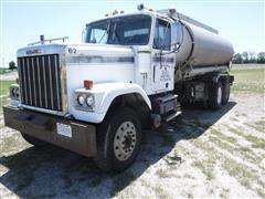 1985 GMC 5 Star General T/A Tanker Truck