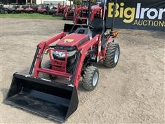 2014 Mahindra Max24H 4WD Compact Utility Tractor W/Loader