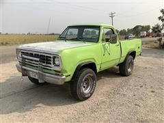 1976 Dodge AW150 4x4 Ram Charger Pickup