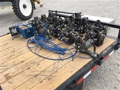 Kinze 3660 Pneumatic Down Pressure Units With Air Compressor