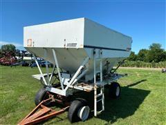 Willmar Load Runner Stainless Steel Dry Fertilizer Tender Bed