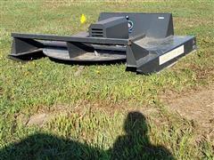 Wolverine 6' Wide Rotary Cutter Skid Steer Attachment