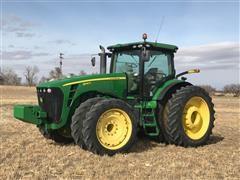 2011 John Deere 8345R MFWD Tractor