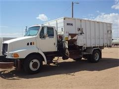 1998 Ford Louisville S/A Truck w/ Mohrlang Delivery Box