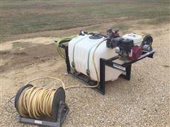 Spray-Land 100 Gallon Skid Sprayer