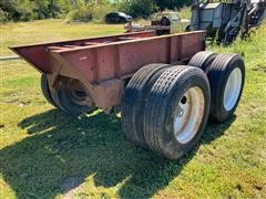 Air Ride Portable/removable Trailer-heavy Equipment Axles