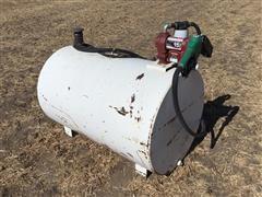 140-Gallon Fuel Tank W/Fill-Rite Pump
