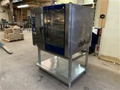 2005 Electrolux Air-O-Steam Natural Gas Steamer/Oven Combination