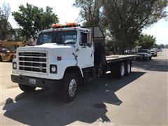 1984 International F2275 T/A Rollback Truck W/Winch
