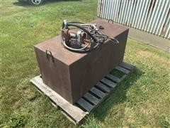 100 Gal Fuel Tank And Pump