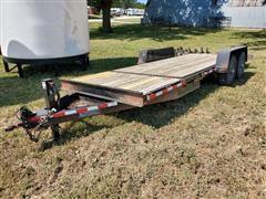 2011 Kiefer Built Tilt-Deck T/A Flatbed Trailer