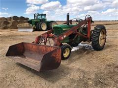 John Deere 2010 2WD Tractor W/Loader