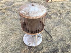 Baldor /JC Penny Propane Heater & Bench Grinders