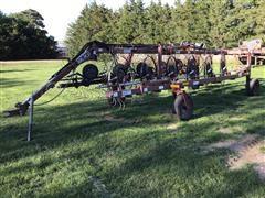 M&W DF12 12 Wheel Rake