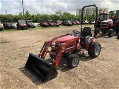 2016 Mahindra EMax 22S HST 4WD Compact Utility Tractor W/Loader