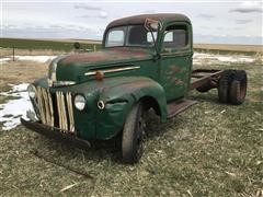 1947 Ford Jail Bar Grill 2-Ton S/A Truck