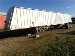 1992 Dakota 8X42 T/A Hopper Bottom Grain Trailer