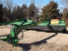 2012 John Deere 956 Disc Mower With Impellar