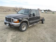 2000 Ford F-250 4X4 4 Door Extended Cab Pickup