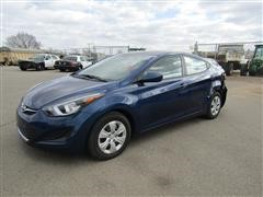 2016 Hyundai Elantra Limited 4 Door Sedan