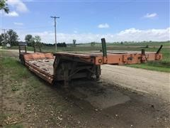 1976 Transcraft Ddtx-35-10-44 T/A Lowboy Trailer