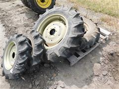Bridgestone 9.5-22 & 6-14 Tires On Yanmar Rims
