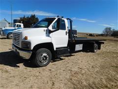 2004 GMC 6500 Wrecker Roll Back Truck