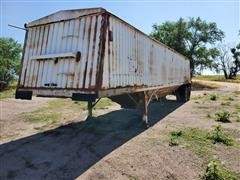 1985 Jet Double Hopper Grain Trailer