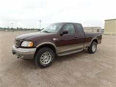 2002 Ford F150 King Ranch 4X4 Extended Cab Pickup