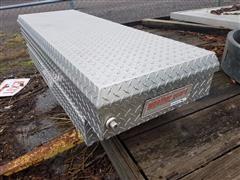 Weather Guard R-154 Saddle Box Extruded Aluminum Pickup Tool Box