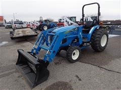 "2016 Ls XG3135H Compact Tractor W/LL3111 Loader & 66"" Bucket"
