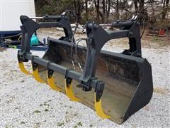 Miller BF102EG Loader Bucket W/Grab Tech Grapple