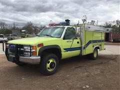 1997 Chevrolet 3500 Dually Rescue Truck