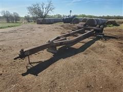 Homemade A-Frame Combine Trailer