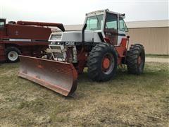 1979 Case 4490 4WD Tractor W/13' Dozer Blade Attachment