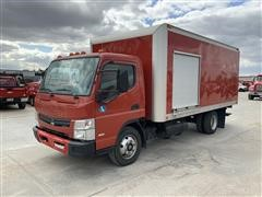 2013 Mitsubishi Fuso FEC92S S/A Cargo Box Truck