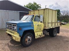 1985 GMC 6000 Dump Truck With Chipper Enclosure
