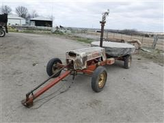 Heinzman 7245B Traveling Irrigation Gun W/Hose