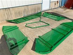 John Deere 9860 Grain Tank Extensions